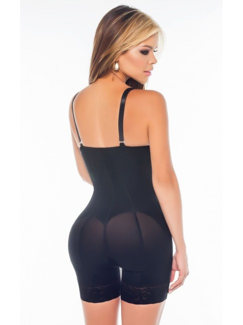 SHORT STRAPLESS GIRDLE